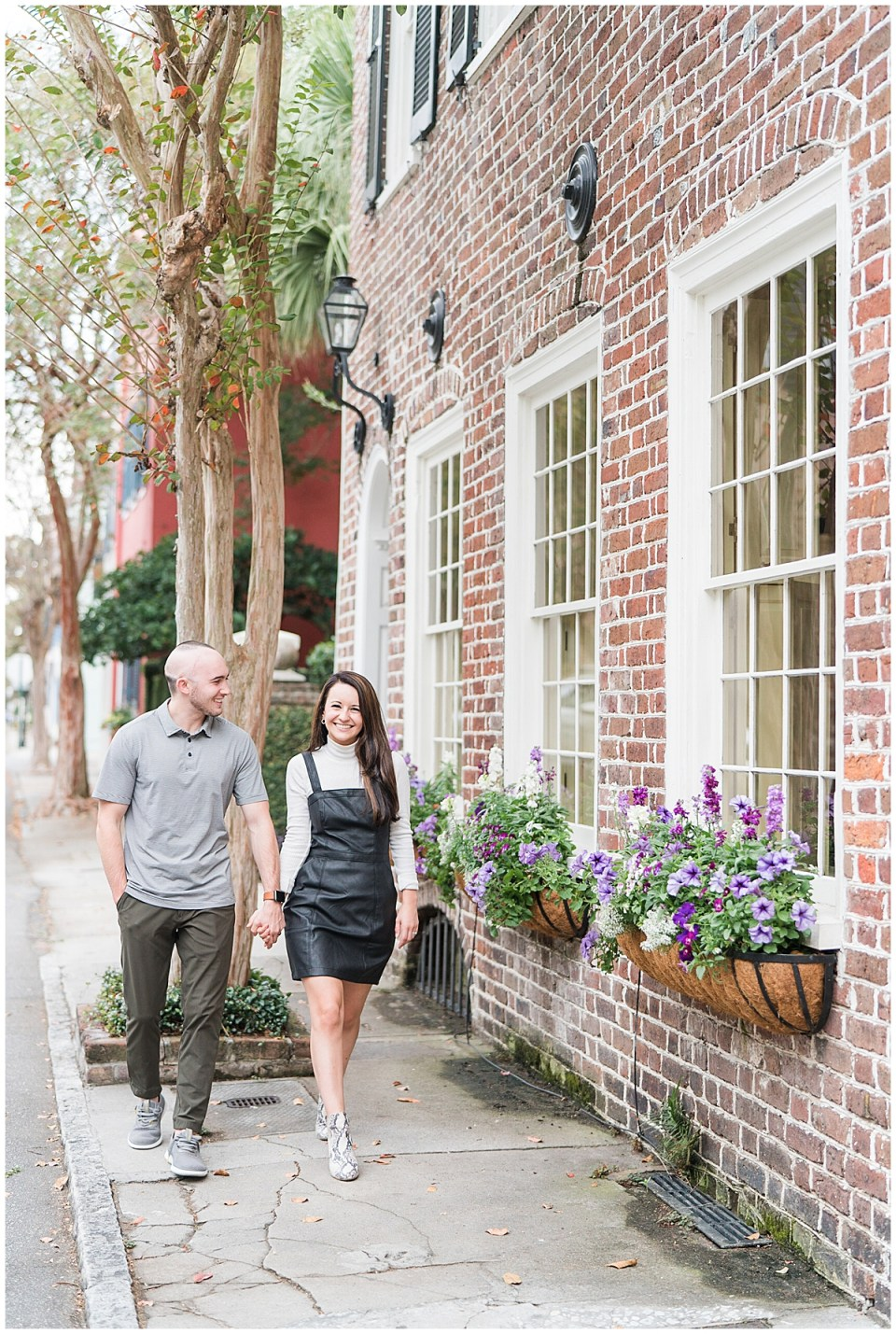 Outdoor Downtown Charleston Engagement Session_0037.jpg