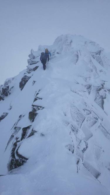 Jen and Charlie on CMD Arete