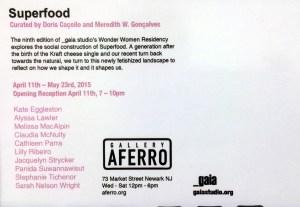 superfood postcard back