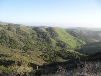 The road between Paso Robles and Cambira