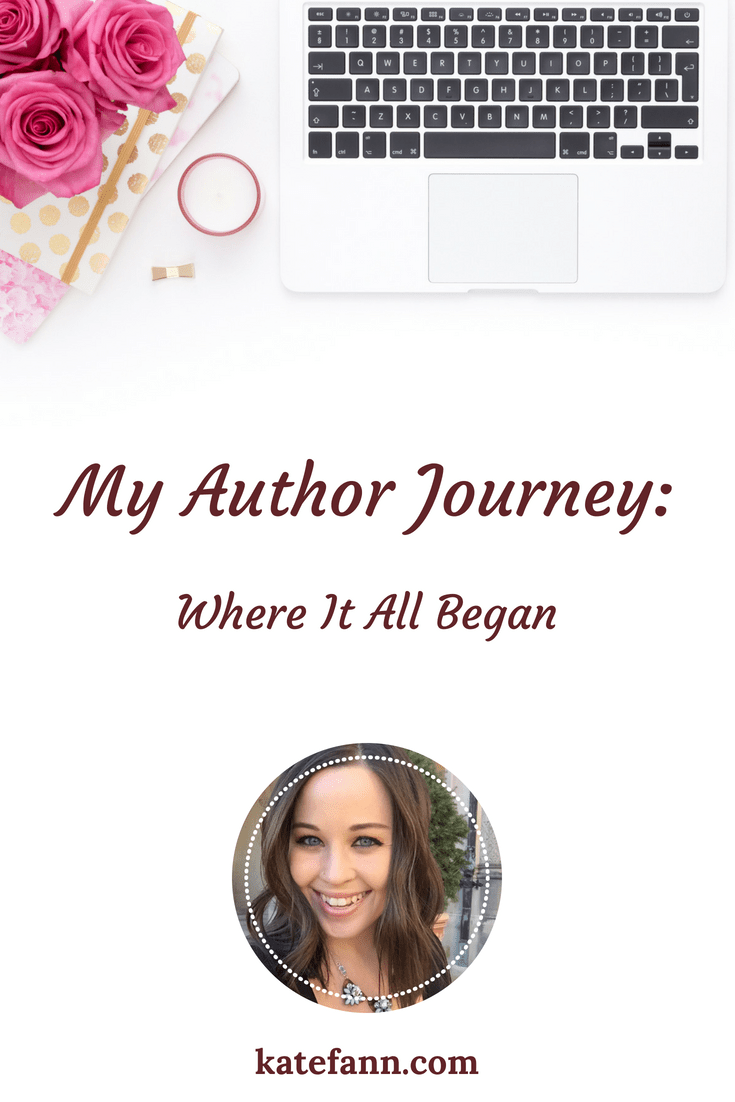 My Author Journey: Where It All Began