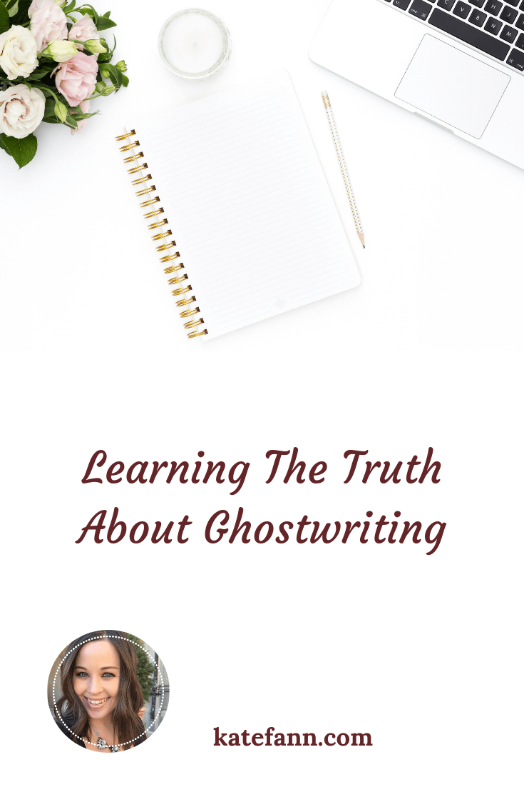 I came across an article about ghostwriting and it revealed some fascinating information. I was not be valued in my work. Now I'm using this knowledge to kill it as a freelancer.