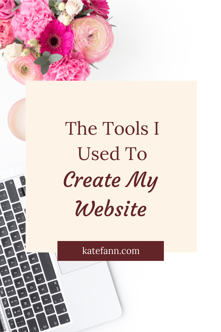 I'll be honest with you:  I don't know much about website creation. I created my website entirely on my own through tools and tutorials. It was hard but so worth it. Now, I'm sharing the tools and tricks I used so you can use them, too!