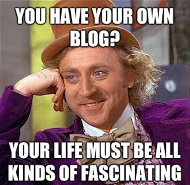 To blog, wiki, tweet, er no.