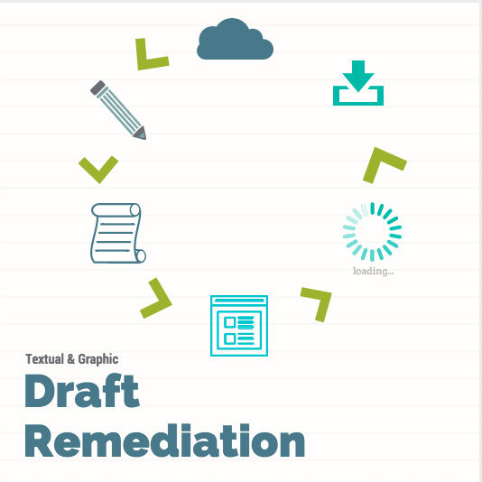 Visual + Text Draft Remediation