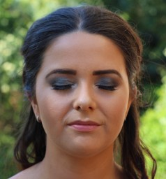 MUA: Magnifique Makeup Artistry. Formal makeup on Jaime.