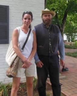 Jennifer Zane and Jubal Early in Maryland
