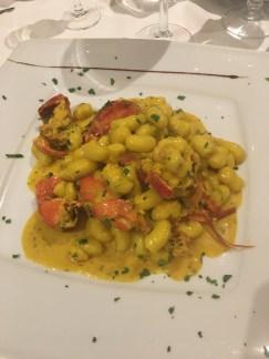 Lobster gnocchi!