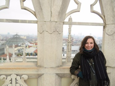 On the roof of Duomo