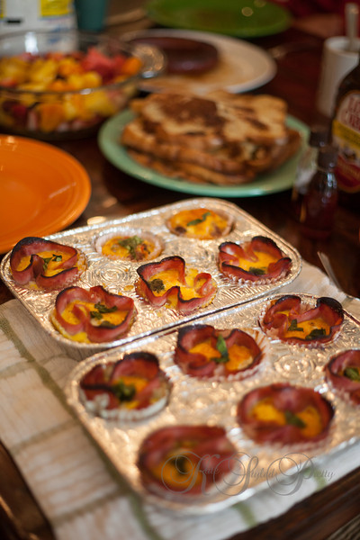 Kate Styled Pretty, Brunch, Ham and Egg bites