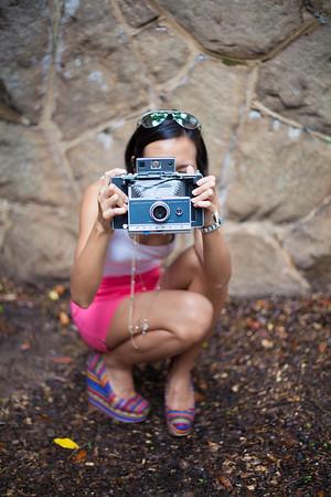 Asian Fashion, Polaroid, Kate Greer