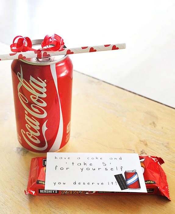 coke and chocolate teacher appreciation gift