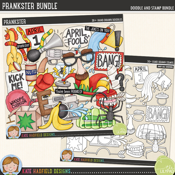 Prankster Bundle by Kate Hadfield | www.katehadfielddesigns.com