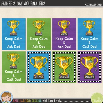 Father's Day Journalers – Freebie!