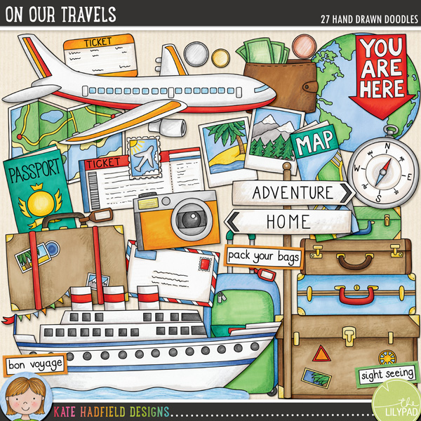 On Our Travels by Kate Hadfield