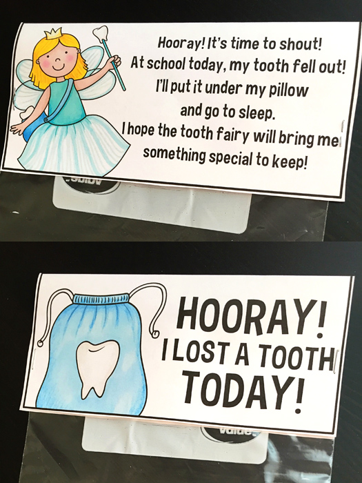 Tooth Fairy activities by Primary Punch | Kate Hadfield Designs