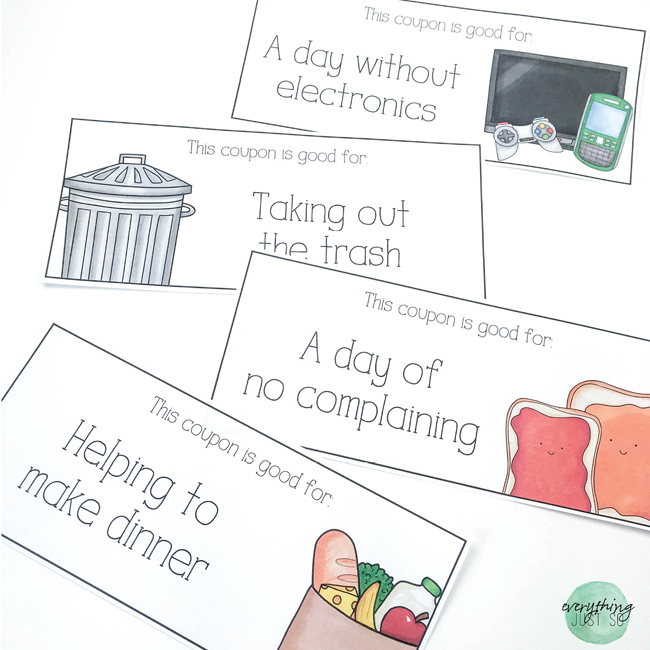 Mothers Day Kit - everythingjustso.org - Three gifts for the important women in students lives - illustrations by Kate Hadfield Designs