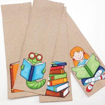 Easy DIY gift idea: Bookmarks!