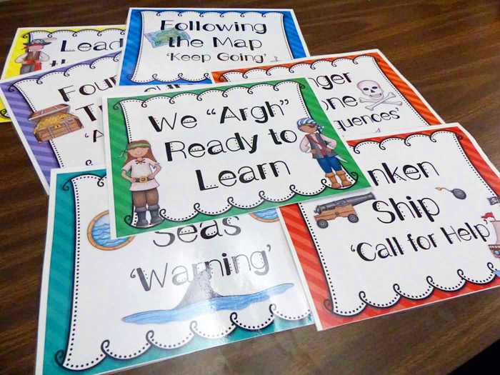 """We """"Argh"""" Ready to Learn by Smart 2 Heart Creations 