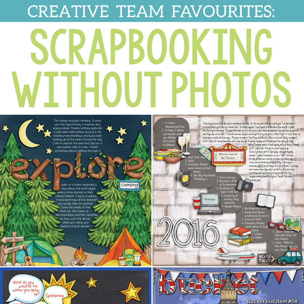 Scrapbooking with photographs - Kate Hadfield Designs
