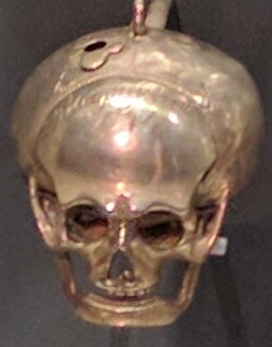16th century skull watches, popular reminders of mortality, British Museum