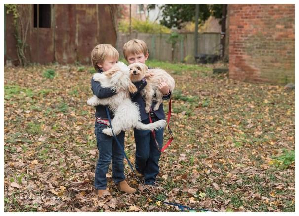 Family Photos with Fur Babies