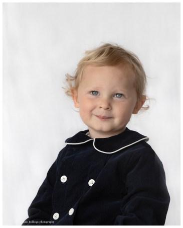 Classic portrait photograph of a boy