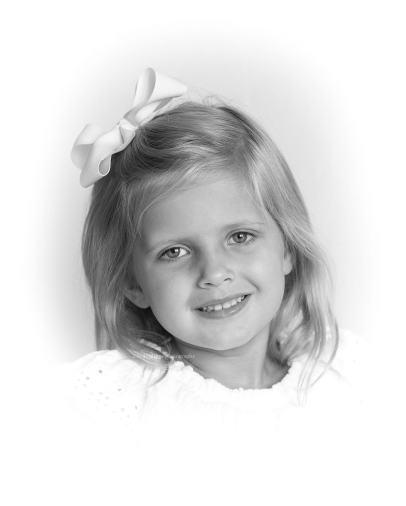 Gentle Smiles for Birthday Portrait Photo