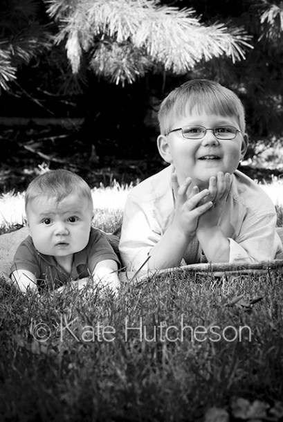 two brothers outside - Nashville child photography