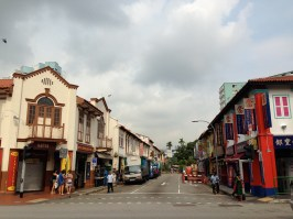 A street in Little India