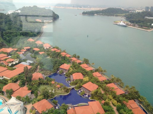 view of a cool Sentosa Resort