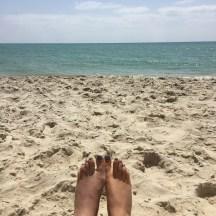 Desert Island Toes