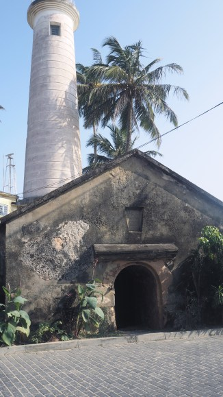 Old buildings in the Fort