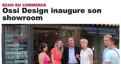 Inauguration des locaux de Ossi Design