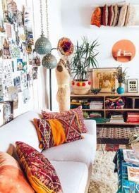 canapé décoration ambiance ethnique