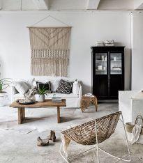 salon ambiance ethnique cosy