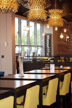 bar restaurant La Villa Nostra Katell Guivarch architecture d'intérieur