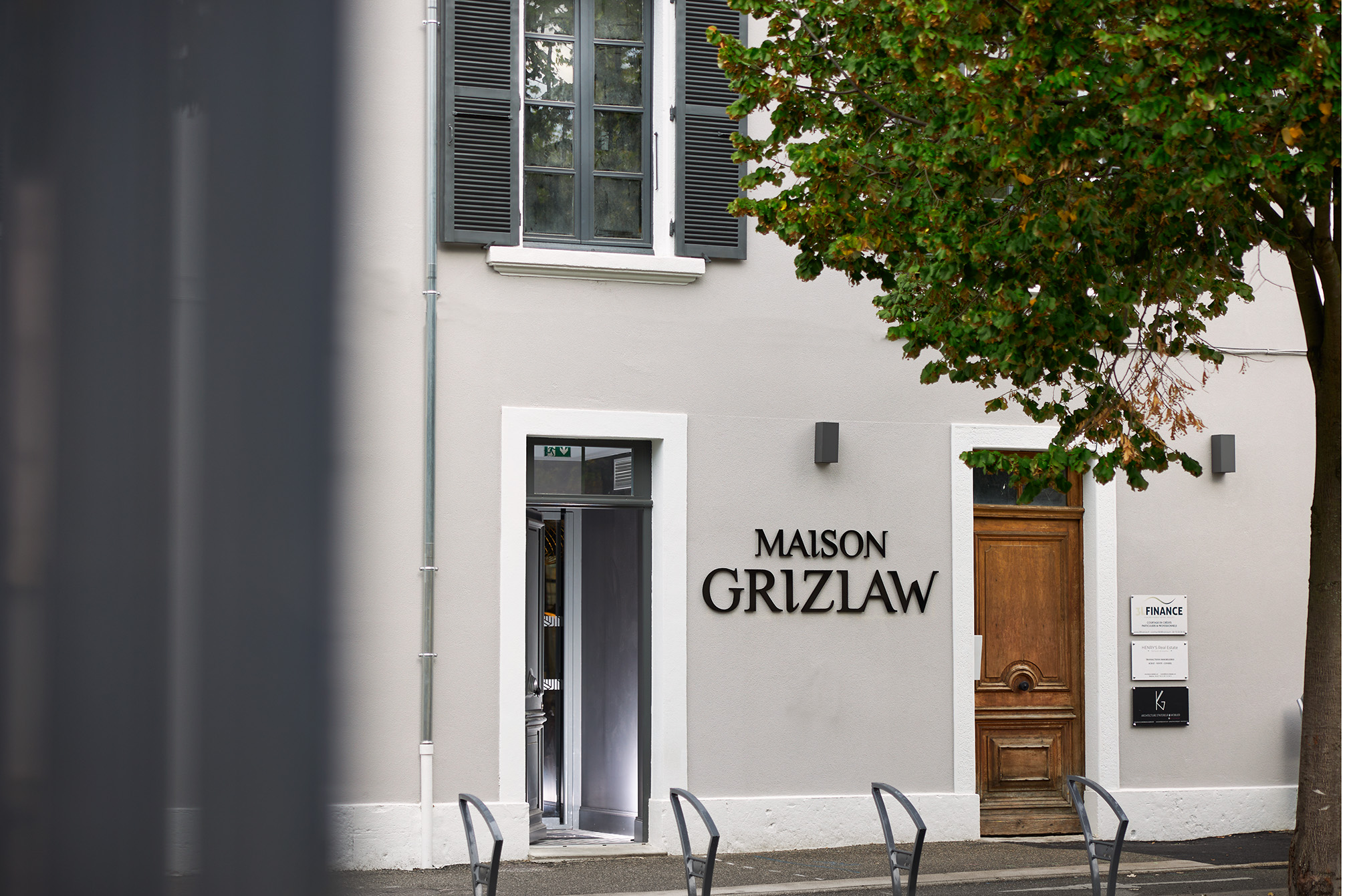 Extérieur | restaurant Maison Grizlaw