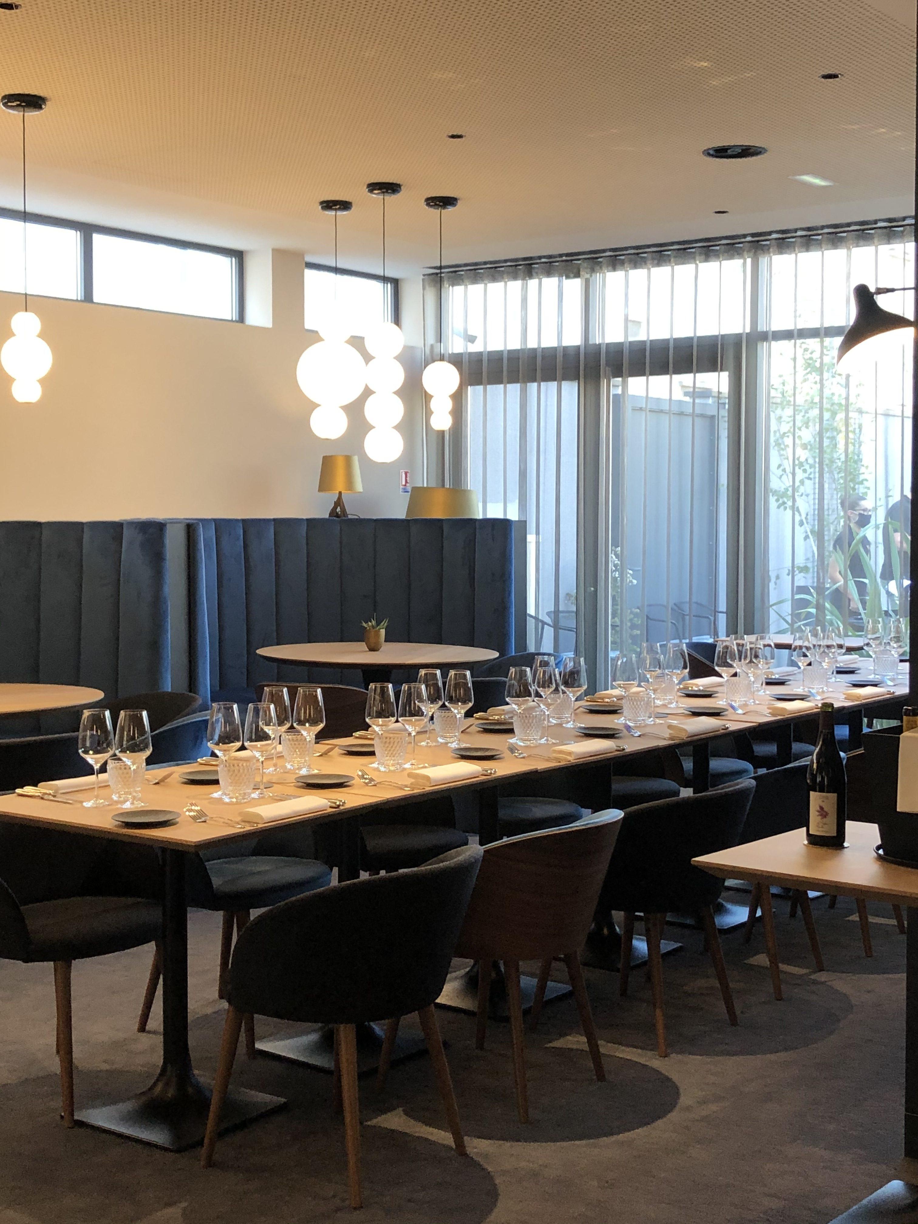 Banquette | restaurant Maison Grizlaw