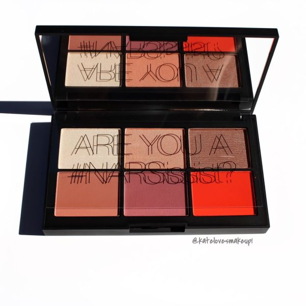 NARS UNFILTERED CHEEK PALETTE | Kate Loves Makeup
