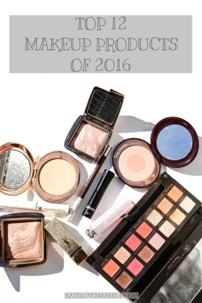 Top 12 Makeup Products of 2016 | Kate Loves Makeup
