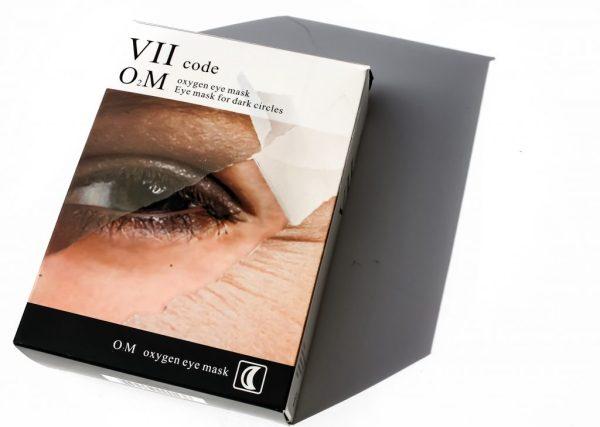 VII Oxygen Eye Mask for Dark Circles | Kate Loves Makeup