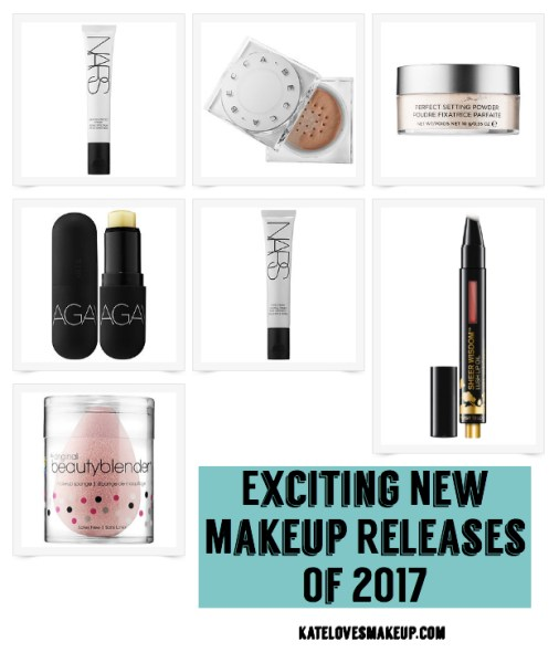 Exciting New Makeup Releases of 2017 | Kate Loves Makeup