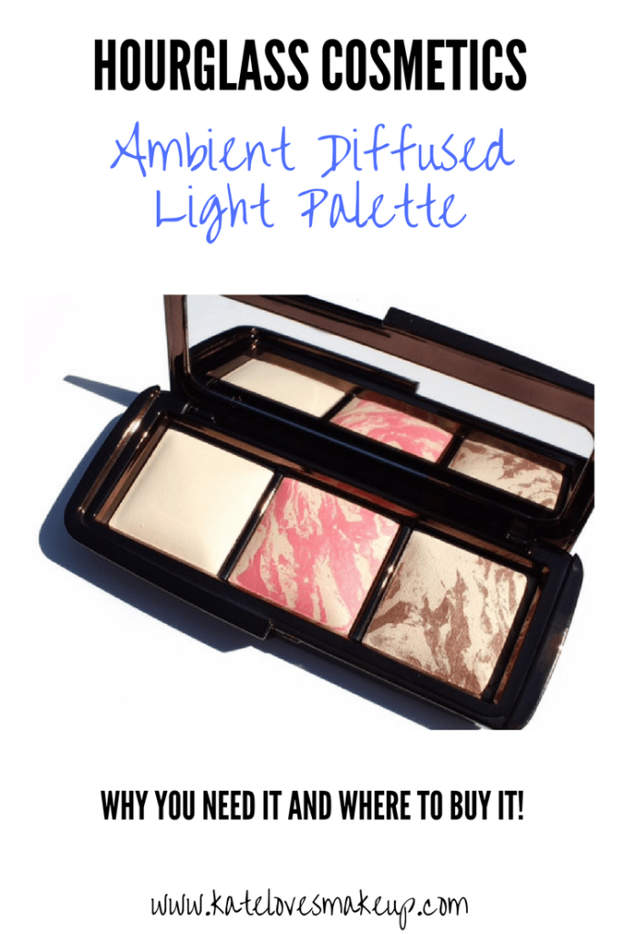 HOURGLASS AMBIENT DIFFUSED LIGHT PALETTE | Kate Loves Makeup