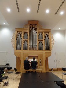 Ahrend German baroque organ