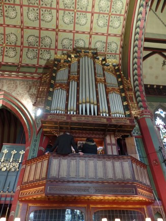 St. Salvador's Episcopal Church organ: 19883 Wordsworth & Maskell