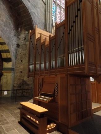 1993 Klais organ console, Aachen Cathedral