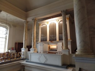 1840 orgue Dreymann, Temple du Musée, Brussels