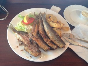 "Herring season (all you can eat -but this ended up being ""all I could eat!"""