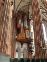 """1985-6 """"Totentanzorgel"""" by Alfred Führer, Mariankirche, Lübeck"""